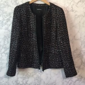 Lafayette 148 Tweed Blazer Sz 4